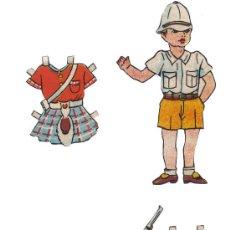 Coleccionismo Recortables: FIGURAS RECORTADAS. Lote 27485843