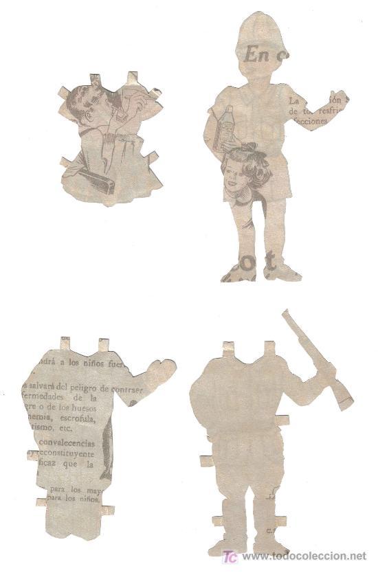 Coleccionismo Recortables: FIGURAS RECORTADAS - Foto 2 - 27485843
