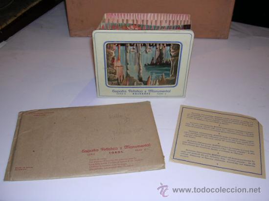 Coleccionismo Recortables: DIORAMA.ESPAÑA ARISTICA Y MONUMENTAL SERIE,8 BALEARES N. 3 -MANACOR CUEVA DEL DRAC - Foto 2 - 26465029