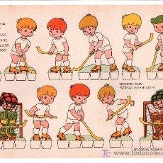 Coleccionismo Recortables: LAMINA DE RECORTABLES BABY. ESCENAS INFANTILES Nº 9. EDITORIAL ROMA-BARCELONA. Lote 13610599