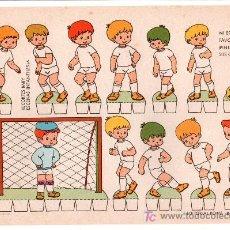 Coleccionismo Recortables: LAMINA DE RECORTABLES BABY. ESCENAS INFANTILES Nº 6. EDITORIAL ROMA-BARCELONA. Lote 13610657