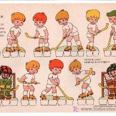 Coleccionismo Recortables: LAMINA DE RECORTABLES BABY. ESCENAS INFANTILES Nº 9. EDITORIAL ROMA-BARCELONA. Lote 13610812