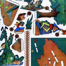 Coleccionismo Recortables: RECORTABLES WALT DISNEY SERIE E Nº1 DRAGON CHIFLADO EDITORIAL VILCAR. Lote 15135786