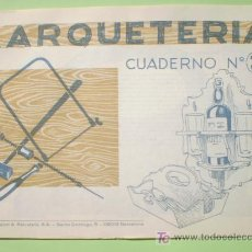 Coleccionismo Recortables: GIN. CUADERNO DE MARQUETERÍA Nº 33 - SOPORTES PARA CUBIERTOS, VASOS Y BOTELLA. Lote 44747192