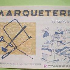 Coleccionismo Recortables: GIN. CUADERNO DE MARQUETERÍA Nº 2 - FIGURAS. Lote 38300466