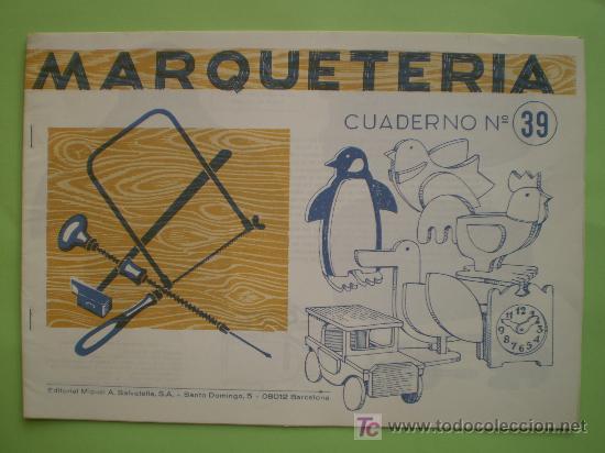 Gin cuaderno de marqueter a n 39 animales comprar - Cuadernos de marqueteria ...