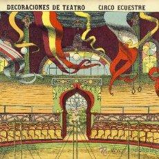 Coleccionismo Recortables: RECORTABLE DE DECORACIONES DE TEATRO: CIRCO ECUESTRE (PALUZIE NUM. 518). Lote 54193619