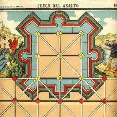 Coleccionismo Recortables: RECORTABLE JUEGO DEL ASALTO (PALUZIE NUM. 925). Lote 16127741
