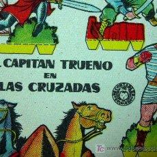 Coleccionismo Recortables: RECORTABLE BRUGUERA, EL CAPITAN TRUENO EN LAS CRUZADAS, 1960, 17 X 12 CM. Lote 16297902