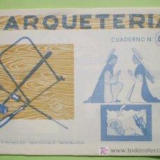 Coleccionismo Recortables: GIN. CUADERNO DE MARQUETERÍA Nº 43 - NACIMIENTO. Lote 26781699