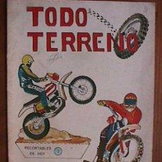 Coleccionismo Recortables: RECORTABLES DE HOY, TODO TERRENO. Lote 19314690