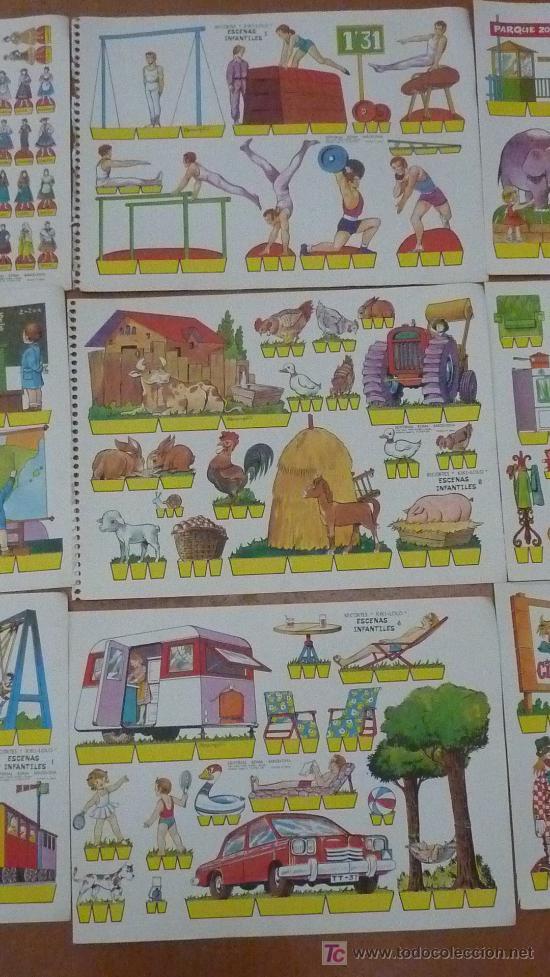 Coleccionismo Recortables: Lote de 9 recortables Kiki-lolo. Serie Escenas infantiles. Editorial Roma. Coleccion entera. - Foto 3 - 25733774