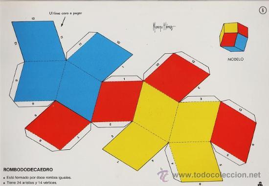 Recortable Figuras Geometricas Nº 6 Rombo D Kaufen Andere Alte