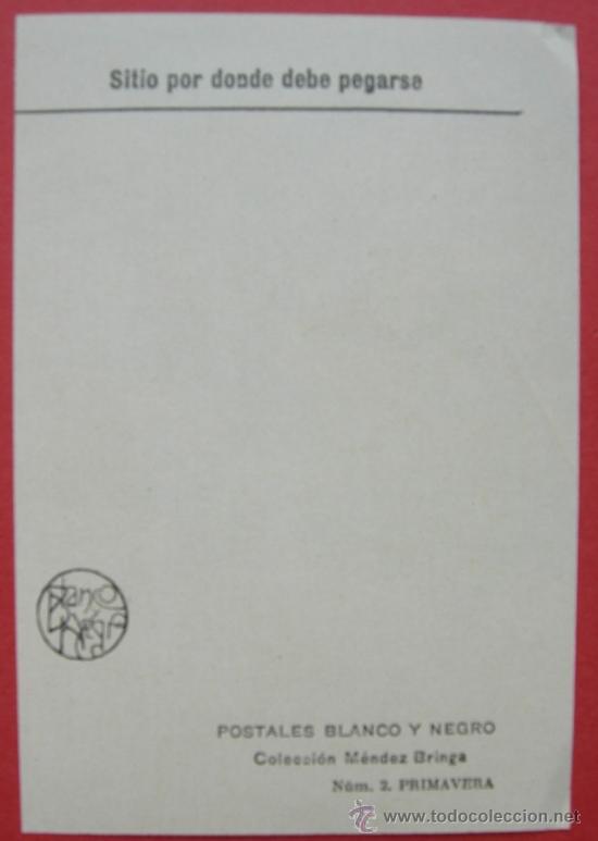 Coleccionismo Recortables: 4 RECORTABLES. POSTALES BLANCO Y NEGRO. COLECCIÓN MÉNDEZ BRINGA - Nº 1,2,3,4 - Foto 2 - 24089806