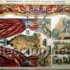 Colecionismo Recortáveis: PALUZIE GUARDAMALLETA BASTIDORES DE PROSCENIO Y ACCESORIOS. Lote 40024148