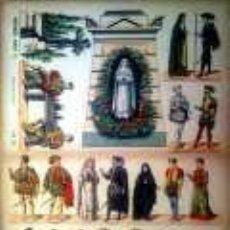 Coleccionismo Recortables: PALUZIE DON JUAN TENORIO.. Lote 38989017