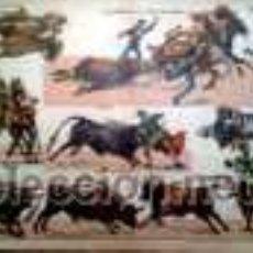 Coleccionismo Recortables: PALUZIE LIDIADORES EN LA PLAZA DE TOROS. Lote 38988836