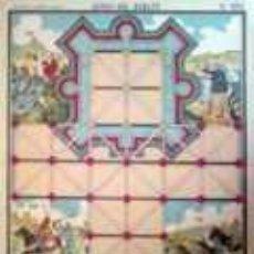 Coleccionismo Recortables: PALUZIE JUEGO DEL ASALTO. Lote 25548556