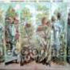 Coleccionismo Recortables: PALUZIE, BASTIDORES DE JARDIN. Lote 25572145
