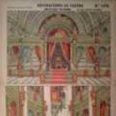 Coleccionismo Recortables: PALUZIE, FONDO DE PALACIO Y SUS BASTIDORES. Lote 25701891