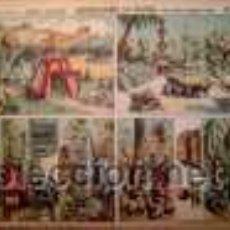 Coleccionismo Recortables: PALUZIE, CAMPAMENTO Y JARDIN ORIENTAL(BASTIDORES Y FONDO). Lote 25731932