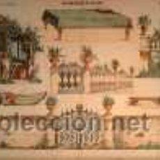Coleccionismo Recortables: PALUZIE, DECORACIONES DE TEATRO. Lote 25732711