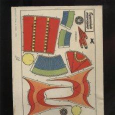 Coleccionismo Recortables: RECORTABLE DE BRUGUERA DE SUPERCOHETE MARCIANO. Lote 26883984
