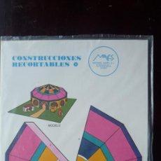 Coleccionismo Recortables: CONSTRUCCIONES RECORTABLES MAVES Nº 3.- 'EL CIRCO'.- 4 PÁGINAS DE CARTULINA TAMAÑO 34 X 24 CM.. Lote 29918050