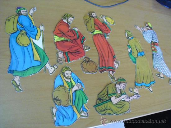Coleccionismo Recortables: recortables, coleccion de de figuras del antiguo testamento numeradas del 1 al 131 años 40 - Foto 16 - 30177547
