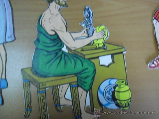 Coleccionismo Recortables: recortables, coleccion de de figuras del antiguo testamento numeradas del 1 al 131 años 40 - Foto 32 - 30177547