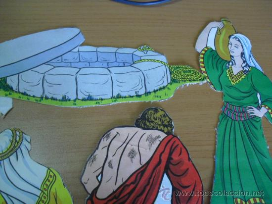 Coleccionismo Recortables: recortables, coleccion de de figuras del antiguo testamento numeradas del 1 al 131 años 40 - Foto 34 - 30177547