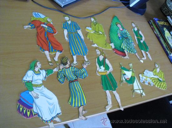 Coleccionismo Recortables: recortables, coleccion de de figuras del antiguo testamento numeradas del 1 al 131 años 40 - Foto 35 - 30177547