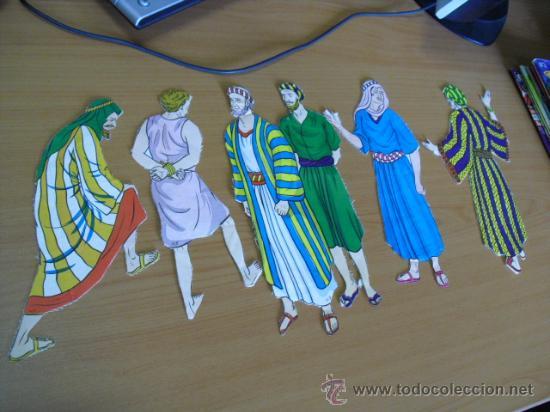 Coleccionismo Recortables: recortables, coleccion de de figuras del antiguo testamento numeradas del 1 al 131 años 40 - Foto 42 - 30177547