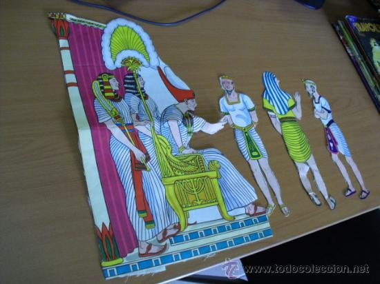 Coleccionismo Recortables: recortables, coleccion de de figuras del antiguo testamento numeradas del 1 al 131 años 40 - Foto 43 - 30177547