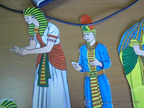 Coleccionismo Recortables: recortables, coleccion de de figuras del antiguo testamento numeradas del 1 al 131 años 40 - Foto 47 - 30177547
