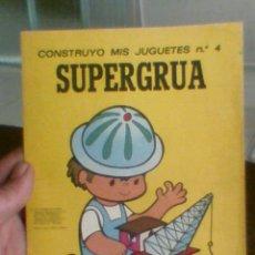 Coleccionismo Recortables: RECORTABLE BRUGUERA INFANTIL Nº 4 COSNTRUYO MIS JUGUETES. Lote 30246349