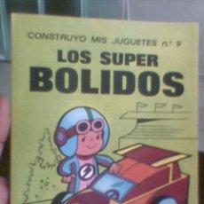 Coleccionismo Recortables: RECORTABLE INFANTIL BRUGUERA AÑOS 70 CONSTRUYO MIS JUGUETES Nº9. Lote 30246393