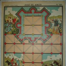 Coleccionismo Recortables: JUEGO DEL ASALTO. PALUZIE, Nº 925. (40 X 29 CM). Lote 32254719