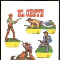 Coleccionismo Recortables: RECORTABLES EL OESTE, RECORTABLES DE HOY, EDICIONES BAUSÁN. Lote 32289365