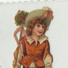 Coleccionismo Recortables: CROMO TROQUELADO CHOCOLATE AMATLLER. Lote 32360116