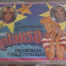 Coleccionismo Recortables: M69 RAREZA RECORTABLES LOS MARCHOSOS APLAUSO MUSICAL CON MIGUEL BOSE Y OTRO CANTANTE, RAREZA. Lote 33040790