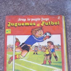 Coleccionismo Recortables: JUGUEMOS AL FUTBOL. MUNDIS. Lote 34770444
