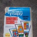 Coleccionismo Recortables: BANDERINES ESCUDOS (2), EDICIONES TORAY S.A.. Lote 34812243
