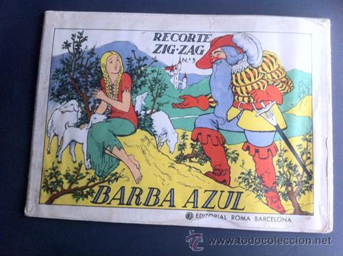ZIG-ZAG BARBAZUL (Coleccionismo - Otros recortables)
