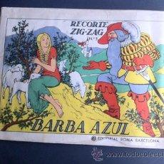 Coleccionismo Recortables: ZIG-ZAG BARBAZUL. Lote 34885459