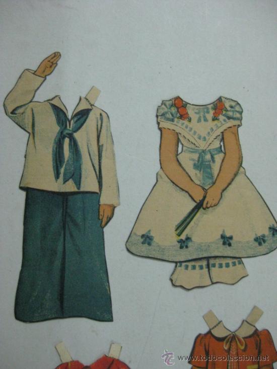 Coleccionismo Recortables: ANTIGUO RECORTABLE SHIRLEY TEMPLE - AÑOS 1930 - TROQUELADO - 6 PIEZAS VER FOTOS - Foto 3 - 35447065