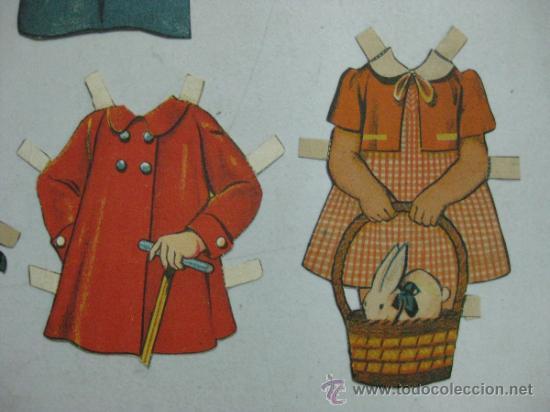 Coleccionismo Recortables: ANTIGUO RECORTABLE SHIRLEY TEMPLE - AÑOS 1930 - TROQUELADO - 6 PIEZAS VER FOTOS - Foto 5 - 35447065