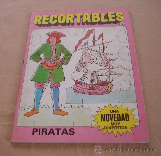 RECORTABLES, PIRATAS. (Coleccionismo - Otros recortables)