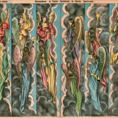 Coleccionismo Recortables: PALUZIE, BASTIDORES GLORIA O APOTEOSIS. Lote 103618027
