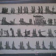 Coleccionismo Recortables: RECORTABLE DE SEMANA SANTA,PRINCIPIOS DEL XX,HILADO,PRECIOSO,MUY RARO,INENCONTRABLE,EL DE LAS . Lote 38109455